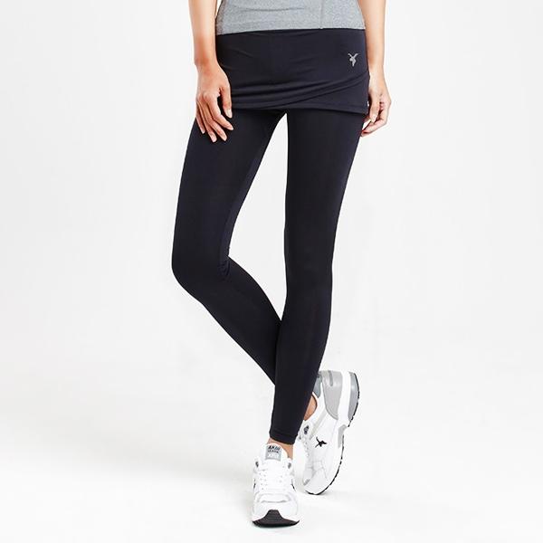 AKIII CLASSIC  <br> <b>Cover up 10/10 Skirt Leggings  </b> <br> black <br>