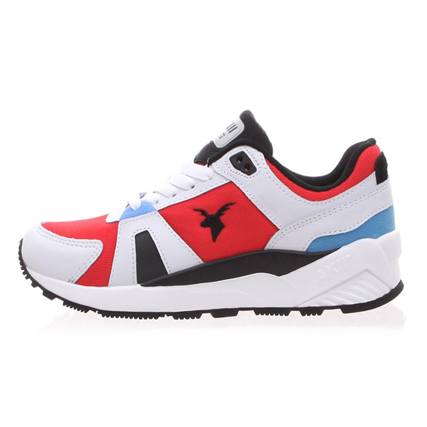 "<b><font color=""blue"">★ ★ Running Shoes</font></b> <br> AKIII CLASSIC <BR> Traction <BR> White / Red"