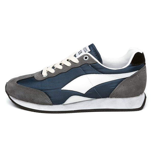 "<b><font color=""red"">New Release !! ★ ★</font></b> <br> AKIII CLASSIC <BR> Sneakers: 703  Gray Navy"