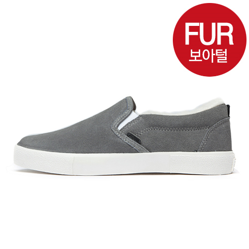 "<b><font color=""red"">New Release !! ★ ★</font></b> <br> AKIII CLASSIC<BR> 801 Slip-on Dark gray"