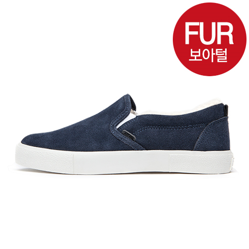 "<b><font color=""red"">New Release !! ★ ★</font></b> <br> AKIII CLASSIC<BR> 801 Slip-on  Navy"