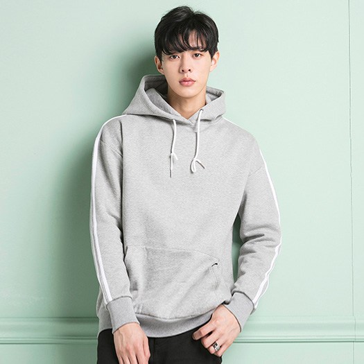 <b><font color=red>AKIII CLASSIC [Unisex]</font></b> <br> overfit 2-line Hood