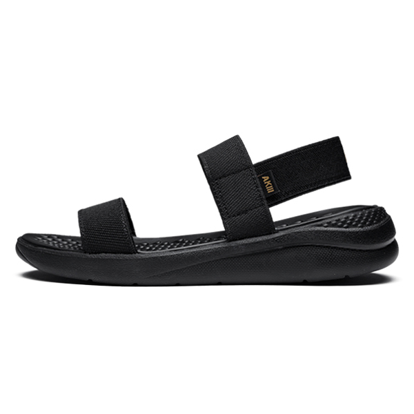 Bubble Strap Sandals Triple Black
