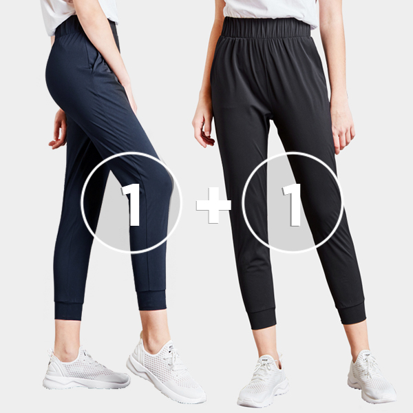 [1 + 1 EVENT] Tricot Air Cooler <br> Jogger pants (unisex)