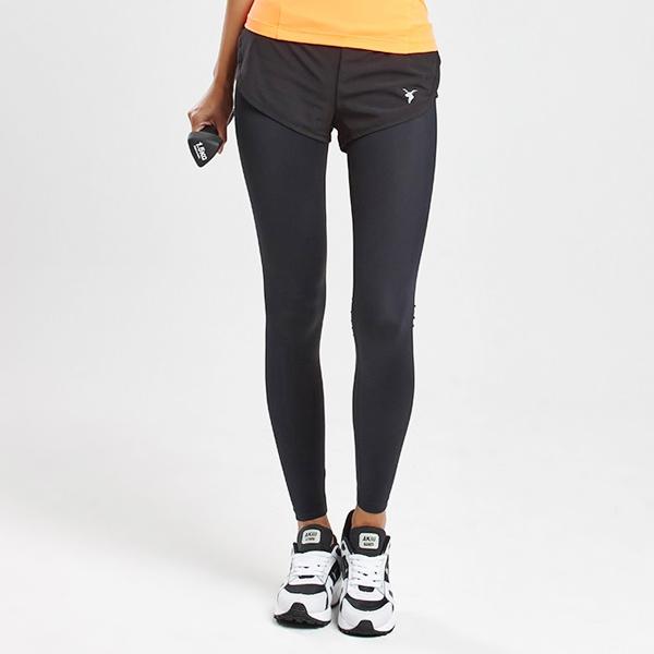 AKIII CLASSIC  <br> <b>Cover-Up 10/10 Shorts Leggings Pants </b> <br> -Training / Fitness <br> Black <br>