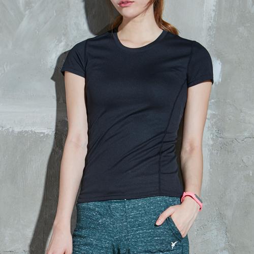 AKIII CLASSIC (AKIII CLASSIC) <br> AT-0109 Black <br> Sport Cool Mash Short T shirts