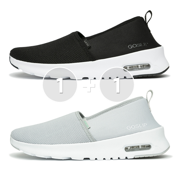 <b><font color=red>[1 + 1 EVENT] Spring New Release</font></b> <br> Aki Classic Slip-on Shoes