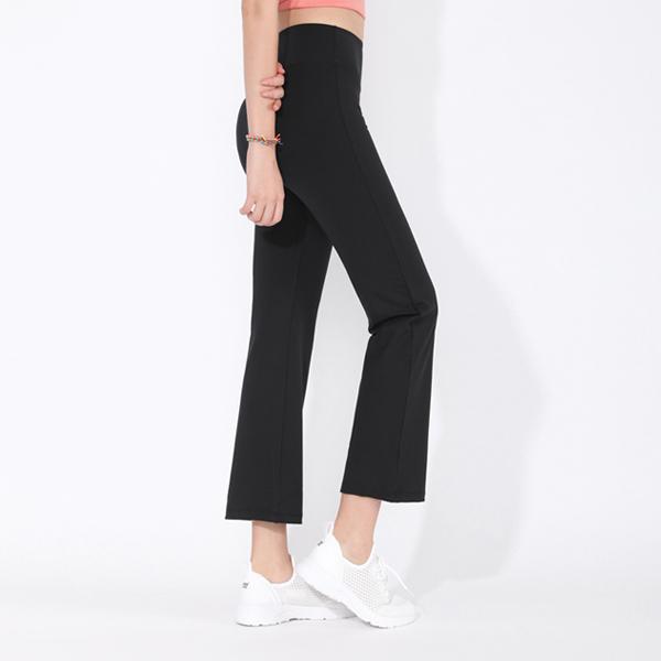 Ultra Cellar Semi Flare Pants <br> Black